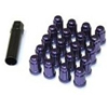 Muteki Purple Lug Nuts Close End 12x1.50