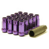 Muteki SR48 Open End Purple Lug Nuts 12x1.50