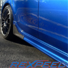 Rexpeed Carbon Fiber Side Spats - Ralliart / Lancer GTS 2009