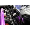 Buschur Racing Valve Cover Rear -AN Fitting - EVO 8/9