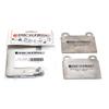 Girodisc Rear Titanium Pad Shields - EVO X