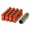 Muteki Red Lug Nuts Close End 12x1.50