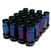 Muteki SR48 Lug Nuts - Burning Blue Neon (Open Ended)
