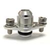 STM Aluminum -8AN Fuel Rail Fitting - EVO 8/9