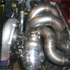 ETS Mitsubishi Evo 8 and Evolution 9 Front Facing Turbo Kit