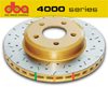 DBA EVO 4000 Front Drilled & Slotted Rotors Set