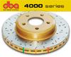DBA EVO 4000 Rear Drilled & Slotted Brake Rotors Set - EVO 8/9