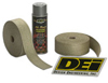 DEI Exhaust/Header Wrap Kit - with Black Wrap & Black HT Silicone Coating