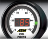 AEM Digital Oil Pressure Gauge