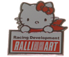 Hello Kitty Mitsubishi Ralliart Emblem