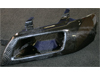 Seibon Carbon Fiber Headlight Duct - EVO 8/9