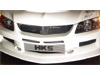 APR GT Front Bumper w/Air Dam - EVO 8/9