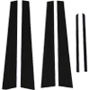 Rexpeed EVO Carbon Fiber Pillar Trim 6pc