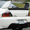 Rexpeed Carbon Fiber T2 Trunk Spoiler - EVO 8/9