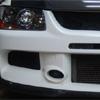 Rexpeed RA-Style Carbon Fiber Front Lip - EVO 9