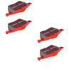 EBC Red Stuff FRONT + REAR Brake Pads COMBO: EVO 8/9