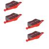 EBC Red Stuff FRONT + REAR Brake Pads COMBO: EVO 8/9