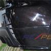 Rexpeed Carbon Fiber Rear Bumper Corner Extensions - EVO X