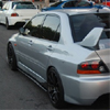 Rexpeed Carbon Fiber Side Skirt Extensions - EVO 8/9