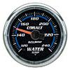 Autometer Cobalt Water Temperature Gauge