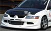 Chargespeed Carbon Fiber OEM Hood -EVO 8/9