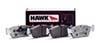 Hawk HP Plus Rear Brake Pads - Lancer EVO