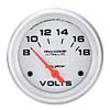Autometer Ultra Lite Volt Meter Gauge