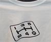 LancerShop Shift White T-Shirt: Large