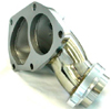 Megan Racing Turbo Outlet o2 Housing - EVO 8/9