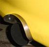 Speed Source Rear Bumper SS Heat Shield - Lancer OZ 2002-2005