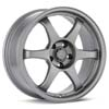 "TRMotorsport C2 Light Grey 18"" Rims Set (4) EVO 8/9"