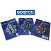 Sparco Blue Hood Pins