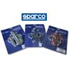 Sparco Polished Hood Pins