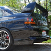 Rexpeed Carbon Fiber V-Style Rear Diffuser - EVO 8