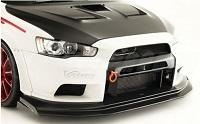 VARIS widebody Front Diffuser, VSDC for Mitsubishi EVO X CZ4A WIDE BODY Version