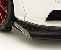 VARIS Widebody Hitting Protector (Left Side) for Mitsubishi EVO X CZ4A WIDE BODY Version