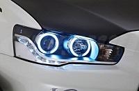 Varis LED CCFL HID Angel Eye Headlights for Mitsubishi EVO X 2014 Version Ultimate