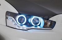 Varis Ver. Ultimate LED CCFL Angel Eyes Headlights for Mitsubishi EVO X 2014 Version Ultimate
