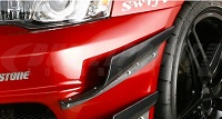 VARIS 09' Ver. Canards, Single, Carbon for Mitsubishi EVO X 2009 Version