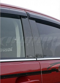 VARIS Pillar Garnish, Carbon for Mitsubishi EVO X 2014 Version Ultimate