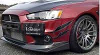 VARIS Canards, Double, Carbon for Mitsubishi EVO X CZ4A Version