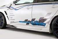 Varis Ver. Ultimate Front Fender Extension, Varis Ver. Ultimate Bumper, FRP for Mitsubishi EVO X 2014 Version Ultimate