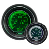 ProSport EVO Series 52mm Electric Water Temperature Gauge Green/White