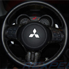 Rexpeed Carbon Fiber Steering Wheel Cover - EVO X