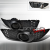 Spec-D Tuning OEM Style Fog Lights Smoke - Lancer GTS, DE, ES