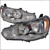 Spec-D Tuning Chrome Euro Headlights - EVO X 08-10