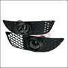 Spec-D Tuning OEM Style Fog Lights Clear - Lancer GTS, DE, ES